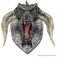 Black Dragon Trophy Plaque