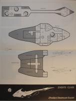 Adventure Class Ships #1 - Condor Class - Freedonian System Defense Boat/Zhdits Class - Zhodani Destroyer Escort