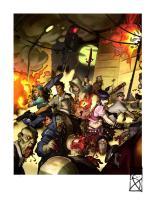 Zombicide Cover Color Art Print