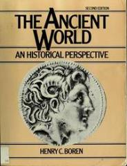 Ancient World, The - An Historical Perspective