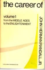 Career of Philosophy, The Vol. 1 - From the Middle Ages to the Enlightenment