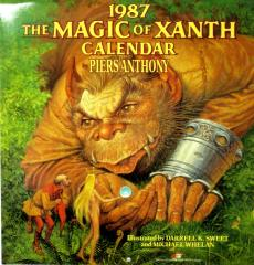 1987 - The Magic of Xanth Calendar