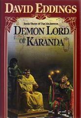 Malloreon, The #3 - Demon Lord of Karanda