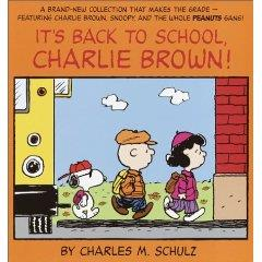 It's Back to School Charlie Brown