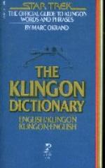 Klingon Dictionary, The
