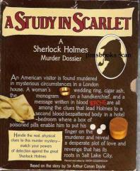 Study in Scarlet - A Sherlock Holmes Murder Dossier