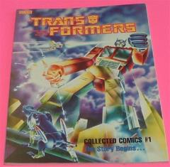 Transformers - Collected Comics #1, The Story Begins