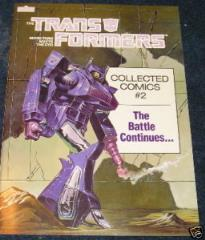 Transformers - Collected Comics #2, The Battle Continues