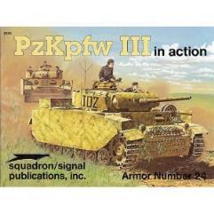 PzKpfw III in Action