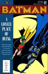 Batman - A Lonely Place of Dying