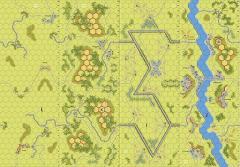"""Imaginative Strategist - IJKL 5/8"""" Panzer Leader Map"""