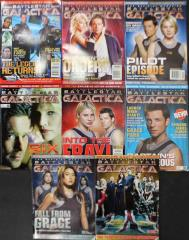 Battlestar Galactic Magazine Collection - 8 Issues!