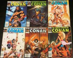 Savage Sword of Conan the Barbarian Collection - #142 - 147!