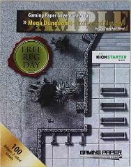 Adventure Maps - Mega Dungeon 4 - Rooftops and Alleyways (Free RPG Day 2016)