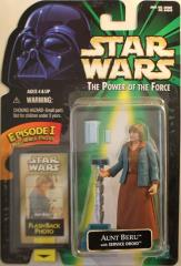 Power of the Force Flashback - Aunt Beru w/Service Droid