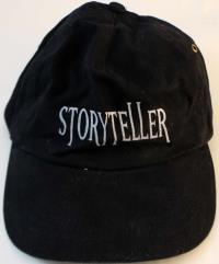 Storyteller Baseball Cap (Black)