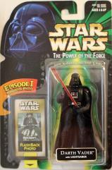 Power of the Force Flashback - Darth Vader w/Lightsaber