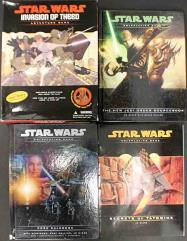 Star Wars d20 Starter Collection #2 - 3 Books and 1 Box Set!