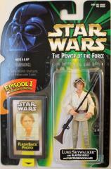 Power of the Force Flashback - Luke Skywalker w/Blaster Rifle & Electrobinoculars