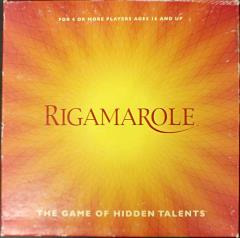 Rigamarole - The Game of Hidden Talents