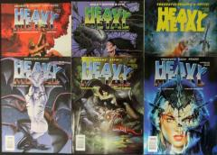 Heavy Metal Magazine 1996 Collection - 6 Issues!