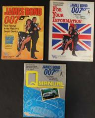 James Bond Roleplaying Game Starter Collection - 3 Books!