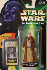 Power of the Force Flashback - Anakin Skywalker w/Lightsaber
