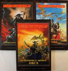 DemonWorld Complete Collection (2nd Edition) - 3 books!