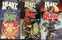 Heavy Metal Magazine 1998 Collection - 6 Issues!