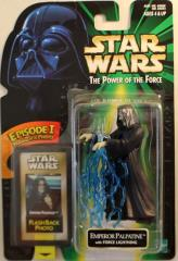 Power of the Force Flashback - Emperor Palpatine w/Force Lightning