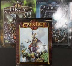 Crucible Complete Collection - 3 Books!