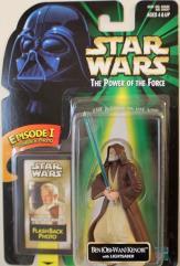 Power of the Force Flashback - Ben (Obi-Wan) Kenobi w/Lightsaber