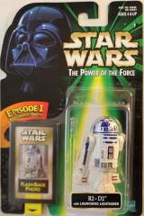 Power of the Force Flashback - R2-D2 w/Launching Lightsaber