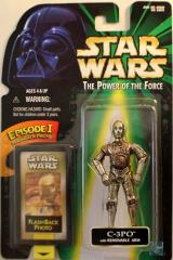 Power of the Force Flashback - C-3PO w/Removable Arm