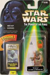 Power of the Force Flashback - Yoda w/Cane & Boiling Pot