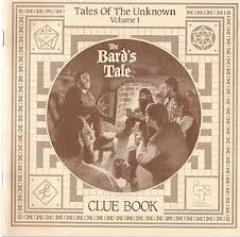 Tales of the Unknown Vol. 1 - The Bards Tale, Clue Book