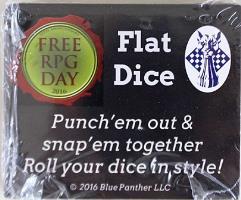 Flat Dice (Free RPG Day 2016)