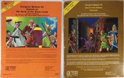 AD&D 1st Edition A-Series Module 2-Pack