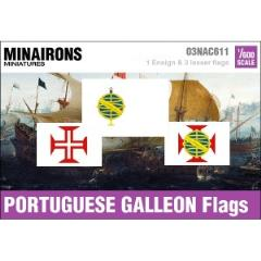17th Century Portuguese Galleon Flags