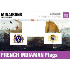 17th Century French Indiaman Flags