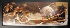 Wrath of Manshoon - Art Print on Canvas (Limited Edition)