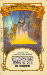 Caverns of the Snow Witch (1985 printing)