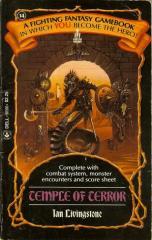 Temple of Terror (1986 printing)