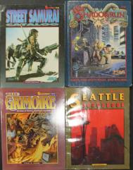 Shadowrun Starter Collection - 8 Books!