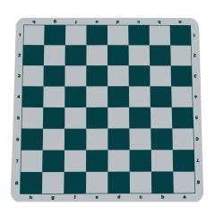 Green Silicone Tournament Chess Mat