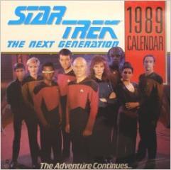 Star Trek - The Next Generation, 1989