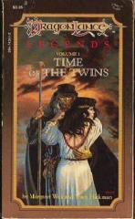 Legends #1 - The Time of the Twins (Mass Market Paperback)