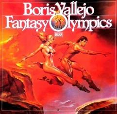 Boris Vallejo - Fantasy Olympics, 1987