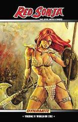 Red Sonja - She-Devil with a Sword Vol. 5, World on Fire