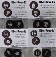 16mm Waffen-SS Set (8)